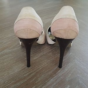 Charlotte Russe Shoes - Peep Toe Heels